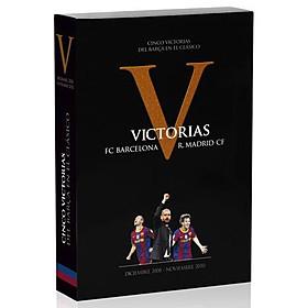 DVD V Victorias Cinco victorias del Barça en el Clásico