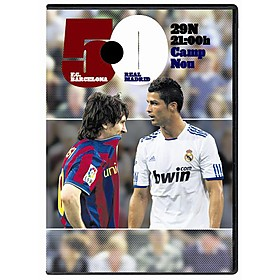 DVD FC Barcelona 5 - 0 Real Madrid