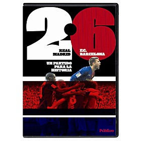 DVD Real Madrid 2 - 6 FC Barcelona