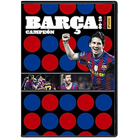 DVD Barça Campeón 2009-2010.